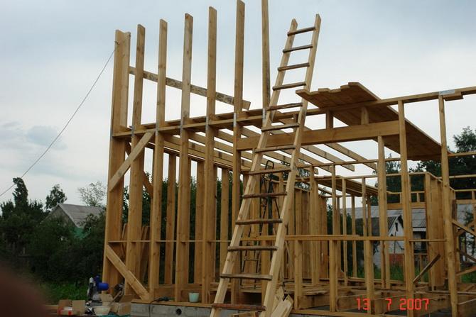 Щитовой дом пошаговая инструкция 6х6