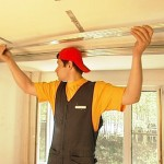 Как выполнить подвесной потолок своими руками