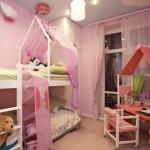 Как правильно выбрать мебель для комнаты двойняшек-девочек