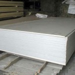 Хранение гипсокартона на строительном объекте