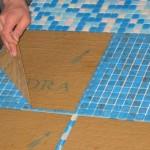 Кладка плитки-мозаики