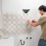 Укладка керамики в ванной