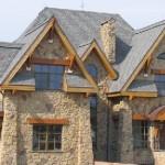 Стены для дома из природного камня