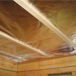 Способ утепления потолка бани