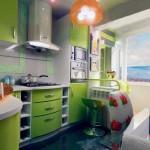 Особенности дизайна окон на кухне