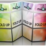 Стенды fold-up рамочные