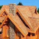 Крыша для деревянного здания