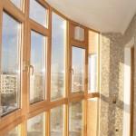 Металлопластиковые окна для лоджий