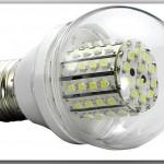 Стандартные светодиодные лампы бытового освещения