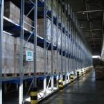 Стеллажное оборудование для холодного склада