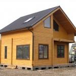 Типовые проекты домов из клееного бруса