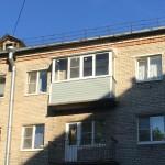 Остекление балконов в хрущевке с выносом
