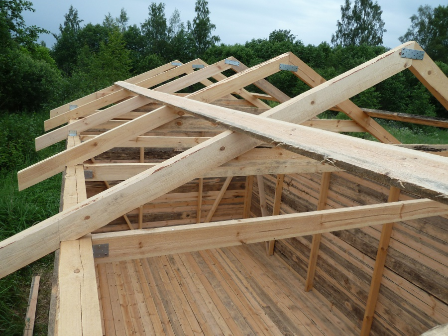 Как построить крышу своими руками недорого