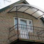 Выбор крыши для балкона