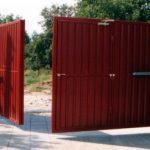 Автоматические ворота с дистанционным открытием