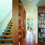 Как сделать из книжных полок разборные перегородки