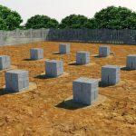 Столбчатый фундамент частного дома