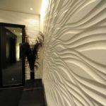 Фактурная декоративная отделка стеновыми панелями
